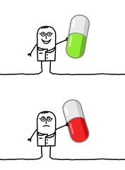 doctor & capsules