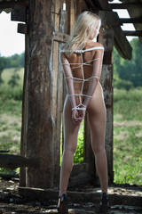 beauty woman bondage