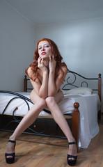 beauty nude woman