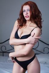 beauty woman in bedroom