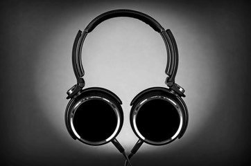 SIlhouette of Headphones