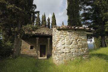 La cappella del Castello di Romena