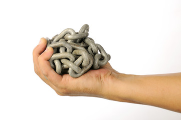 The Hand With Chain