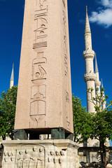 The Obelisk of Theodosius in Istanbul, Turkey