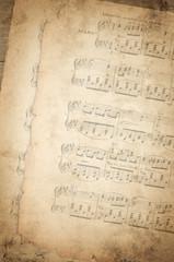 Notenblätter - Vintage