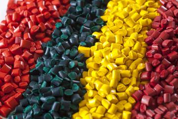 colorful plastic masterbatch polymer granules