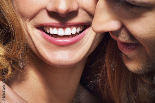 Nice shoot of great smile and white teeth