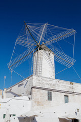 Old corn mill in Ciutadella, Menorca, Spain.
