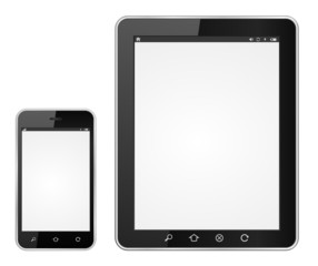 smartphone and tablet computer