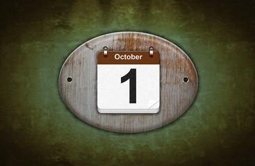 1 de Octubre.