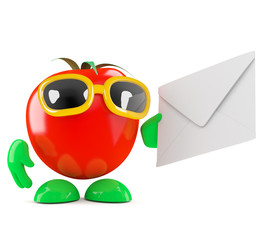 Tomato has mail