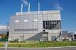 Leinwandbild Motiv usine pour le traitement des déchets