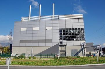 usine pour le traitement des déchets