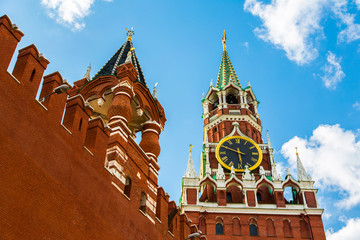 Moscow Kremlin spring