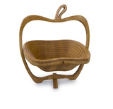 wooden breadbasket