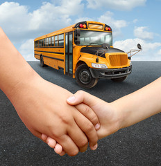 School Children Bus