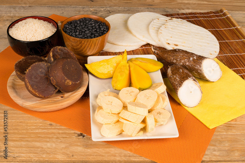 Latin food ingredients