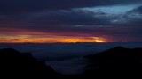Sunrise Time Lapse On Top Of Haleakala Crater Maui