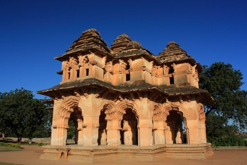 Lotus Mahal in Hampi, Karnataka state, India.