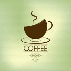coffee background (olive theme)