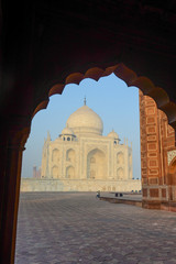 Taj Mahal in India