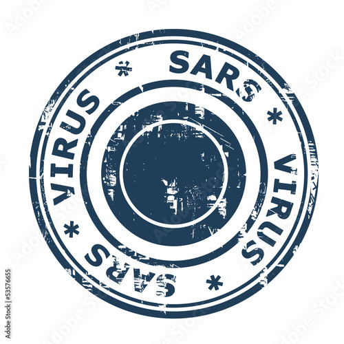 SARS Virus Stamp