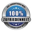 5 Star Button blau 100% ZUFRIEDENHEIT DGW DGW