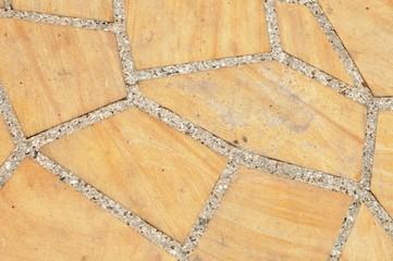 polygonale Steinplatten