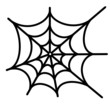 spider net vector background - 53578891