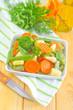 raw vegetables, mix vegetables