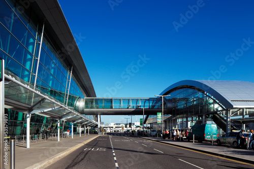 Terminal 2, Dublin Airport, Ireland opened in November 2010 - 53579893
