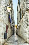 Street in the old town Dubrovnik, Croatia - 53581284