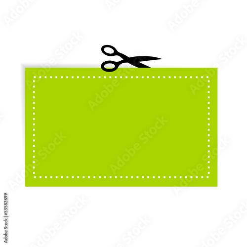 schere ausschneiden symbol II