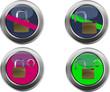 bottone lucchetto