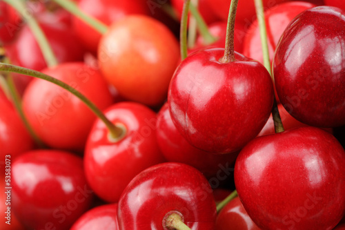 Red Sweet Cherries