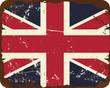 Vintage UK Flag