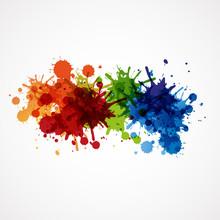Tło projektu farby