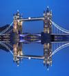 Tower Bridge in the evening, London, UK