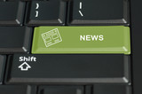 News button on a keyboard
