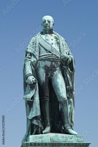 Leinwanddruck Bild Großherzog Karl Friedrich von Baden
