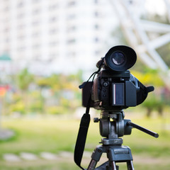 High definition camcorder in