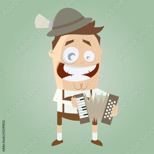 akkordeon musikant