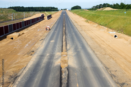 Autobahn construction