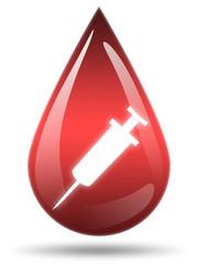 ilustração - Transfusão sanguínea