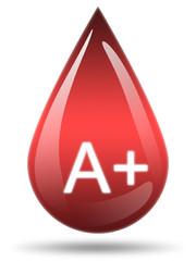 Ilustração - Tipo de sangue A+