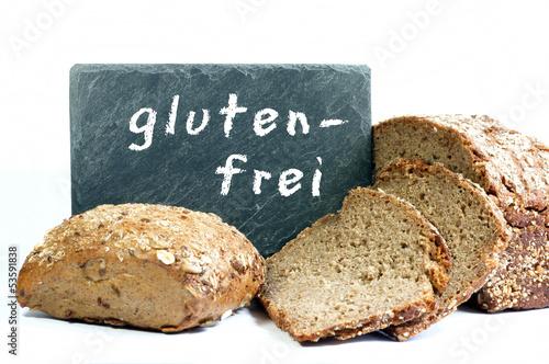 """Brot und Semmel mit Tafel """"glutenfrei"""""""