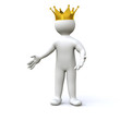 3D Man King
