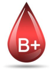 Ilustração - Tipo de sangue B+
