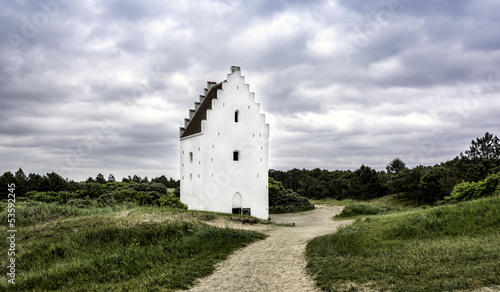 Sand-Buried Church, Skagen, Jutland, Denmark