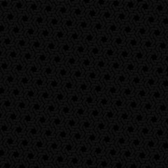 Black hexagon seamless retro vector background